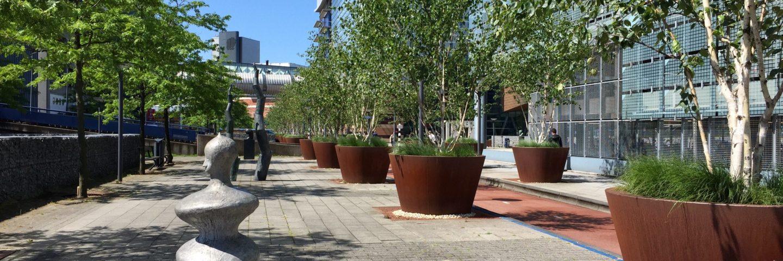 Binnenstadsfeer in het Biosciencepark